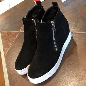 steve madden wedge sneakers